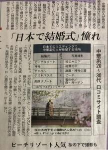 日本リゾート婚